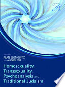Homosexuality Transsexuality Psychoanalysis And Traditional Judaism