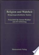 Religion und Wahrheit