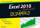 Excel 2010 für Dummies Ruck Zuck