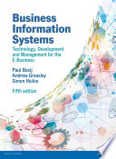 Business Information Systems  5th edn