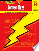 Power Practice  Context Clues  Gr  5 6  eBook