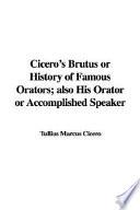 Cicero's Brutus