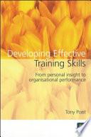 Developing Effective Training Skills