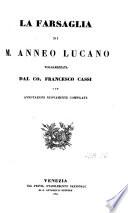 M  Annaei Lucani Pharsalia