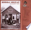 Romsdal Sogelag Årsskrift 2003