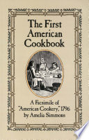The First American Cookbook book