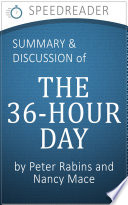 Summary of The 36 Hour Day by Nancy Mace and Peter Rabins