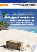 Planung und Kompilation eines Reisepaketes
