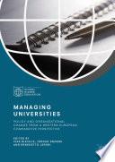 Managing Universities