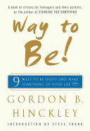 Way To Be! : book that provides young adults...