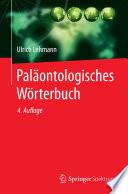 Pal  ontologisches W  rterbuch
