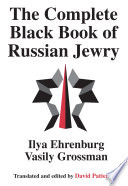 The Complete Black Book of Russian Jewry Book PDF