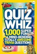 National Geographic Kids Quiz Whiz
