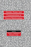 download ebook gender, power, and communication in human relationships pdf epub