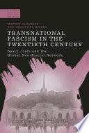 Transnational Fascism in the Twentieth Century