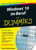Windows 10 im Beruf f r Dummies
