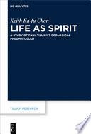 Life As Spirit