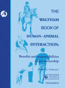 The Waltham Book of Human-Animal Interaction