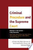 Criminal Procedure and the Supreme Court