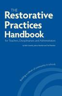 The Restorative Practices Handbook