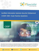 Isc 2 Cissp Certified Information Systems Security Professional 399 Exam Practice Questions
