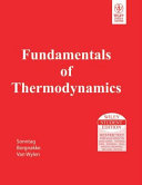 FUNDAMENTALS OF THERMODYNAMICS  With CD