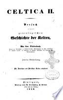 Versuch einer genealogischen Geschichte der Kelten Lor. Diefenbach