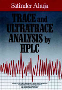 Trace and Ultratrace Analysis by HPLC