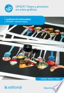 Fases y procesos en artes gr  ficas  ARGI0209