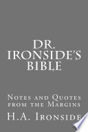 Dr Ironside S Bible