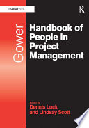 Gower Handbook Of People In Project Management : benefits to others, so it's no surprise...