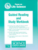 Prentice Hall Science Explorer Focus on Life Science   California Edition  Guided Reading and Study Workbook