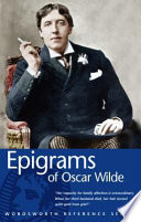 Epigrams of Oscar Wilde
