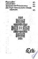 Das Kleine Corpus Doctrinae