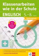 Klassenarbeiten Wie in Der Schule Englisch