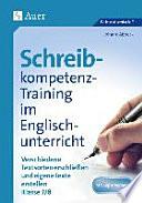 Schreibkompetenz Training im Englischunterricht 7