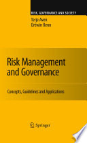Risk Management and Governance