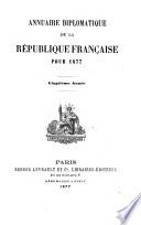 Annuaire diplomatique et consulaire de la République française pour ...