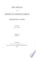 The Journal of the Kilkenny and South-east of Ireland Archaeological Society