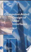 Computer aided Design of User Interfaces