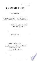 Commedie del conte Giovanni Giraud