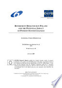 Retirement Behaviour in Poland and the Potential Impact of Pension System Changes