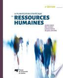La planification strat  gique des ressources humaines  2e   dition