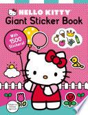 Hello Kitty  Giant Sticker Book