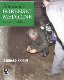 Simpson's Forensic Medicine, 11Ed : forensic medicine for the student and...