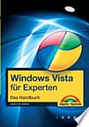Windows Vista f  r Experten