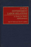 Local government labor relations
