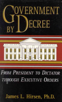 Government by Decree