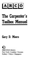 The Carpenter s Toolbox Manual