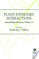 Annual Plant Reviews Plant Pathogen Interactions book